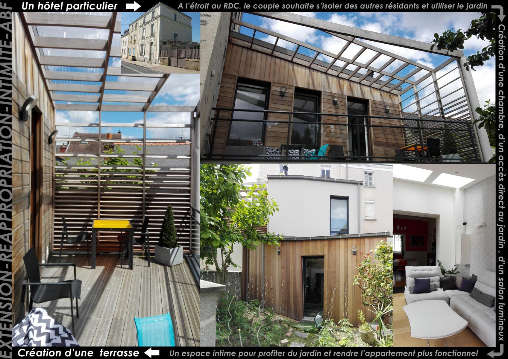 Atelier Cédric Chairou Architecture PROJET ABF ANGERS